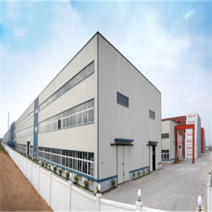 Сборные Легкие стальные фокусировочные рамки промышленной структуры безопасности склад для хранения
