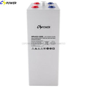 2V1200ah глубокую цикла гель Opzv Batterysolar 2V 1200ah Opzv2-1200