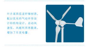 400 Вт мал ветровой турбины для дома 12 В или 24 В для крыши