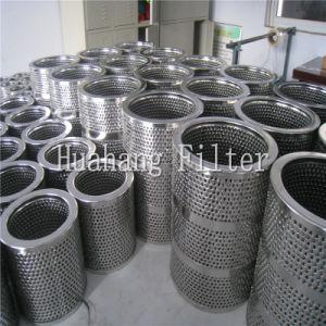 Aangepaste geplooide de filterpatroon van de roestvrij staalCilinder filter
