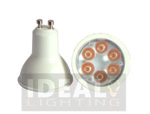 Scheinwerfer-weißes Ende LED-GU10 6W