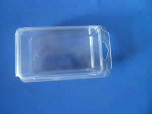 Blister Packing Box Pet Clamshell BoxのためのHardware Parts Clamshell Boxのための正方形のBlister Packing
