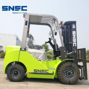 Snsc 2ton carretilla elevadora Diesel con cambio de lado