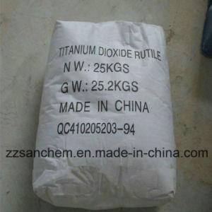 Het Rutiel van het Dioxyde van het titanium TiO2 voor de BuitenVerf van de Emulsie