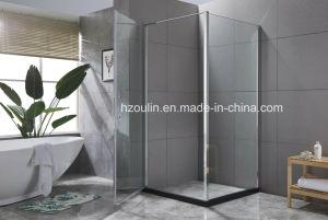 8mm 공간 유리 접히는 샤워실