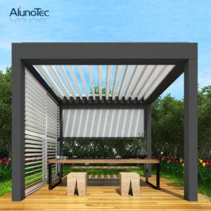 À prova de bricolage moderno Design Motorizado Jardim de alumínio Gazebo