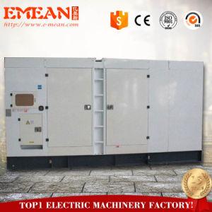 С нами при полной нагрузке двигателя электрический 640квт 800 ква бесшумный дизельный генератор