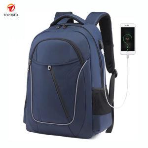 Saco de mochila de Lazer Negócios Piscina Bagpack carregador USB na pasta
