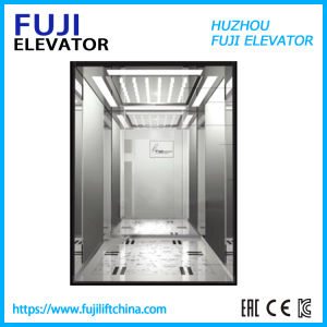 Observação Controle Vvvf vistas panorâmicas do elevador de passageiros com sala da máquina