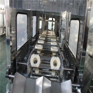 5 Gallon grande bouteille de lavage machine de plafonnement de remplissage