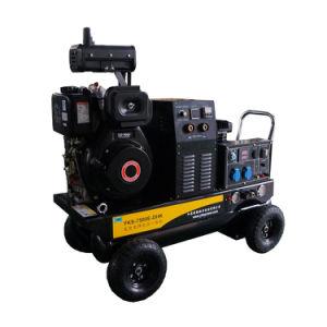 Dieselgenerator 5kw mit Schweißer und Luftverdichter-Funktion