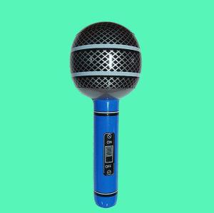 Microfone insuflável de PVC brinquedo (L004)