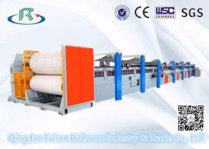 カードの板紙表紙の両面機中国の波形機械製造業者