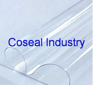 厚い0.5mmの極度の明確で自然で白いプラスチックPVCシート