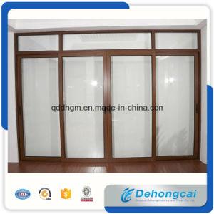 Puerta de aluminio de cristal doble/puerta de la aleación de aluminio