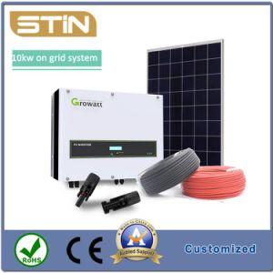 10kw sur la grille du système d'énergie solaire pour la maison ou l'utilisation commerciale