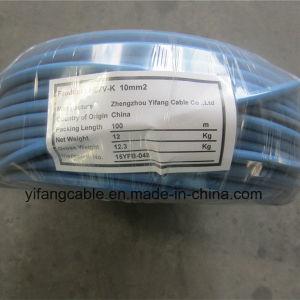 H07V-K de Fio de Cobre Flexível para aplicação de eléctrico do alojamento