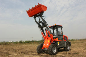 Everun Brand CE Approved 1.2 Ton Small Wheel Loader with Euroiii Engine