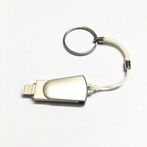 8 ГБ, 32 ГБ 64ГБ Мини USB металлические ручки привода /OTG флэш-накопитель USB для iPhone 5/5s/5c/6/6 Plus/iPad I-Flashdrive диск