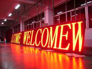Le marquage CE et LED de plein air se déplaçant RoHS adopté Affichage de message