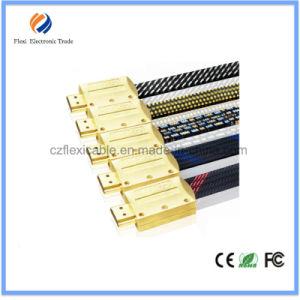 10 cavo di qualità superiore del tester HDMI con le coperture di nylon del metallo