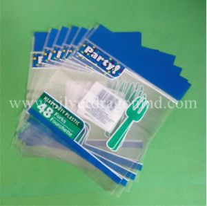 スライダ、OPPのPVC袋が付いているカスタムプラスチックジッパー袋