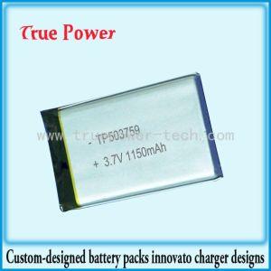 공기 정화기를 위한 고품질 리튬 중합체 건전지 3.7V 1200mAh (TPP503759)