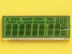 Tn/Stnの習慣LCDの表示の製造