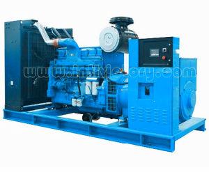 홈 & 상업적인 사용을%s Cummins Engine를 가진 728kw 실내 유형 디젤 엔진 발전기