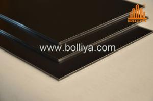 Placa de sinal de Impressão Digital Signage Escova Espelho de prata PE Revestimento de PVDF 2mm 6 mm em 3 mm a 4 mm da parede lateral exterior do interior do revestimento de fachadas Painel Composto de alumínio