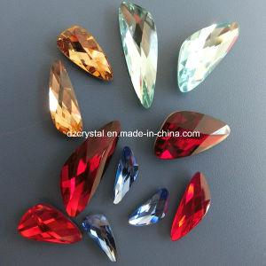 Parel van het Kristal van de Fabriek van China de Decoratieve Foiled Achter voor het Maken van Juwelen