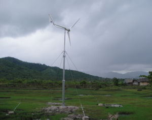 Anhua 2kw Yawing Controlled Safety Wind Turbine Generator
