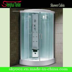 Einfacher Quadrant-bereiftes Glas-transparenter Glasdusche-Schrank (TL-8811)