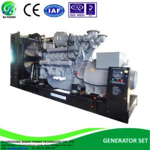 Meilleurs générateurs industriels avec l'efficacité alimenté par un moteur Perkins 1104-44tg2