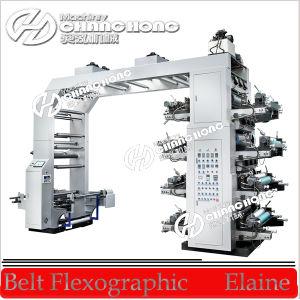 Máquina de alta velocidade da imprensa de impressão de Flexo do papel de vidros (CH884)