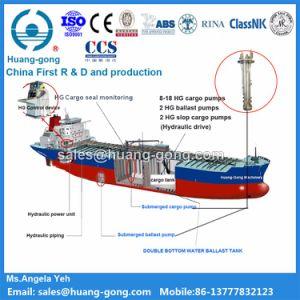Sistema di pompaggio idraulico del carico del pozzo profondo per la petroliera