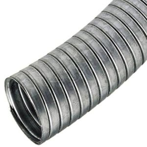 직류 전기를 통한 강철 유연한 금속 두 배 버클 도관