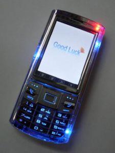 SIM doppio carda il telefono mobile standby doppio di Triband (288+)