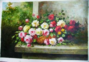Het olieverfschilderij bloeit het Schilderen van het Canvas