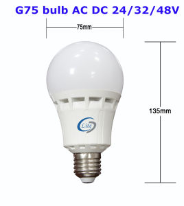 AC/DC 12V/24V/48V LED coltivano l'indicatore luminoso