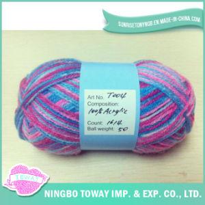 Lado de malhas de fios de acrílico para tricotar acrílico (tricotar)