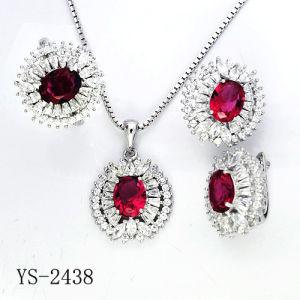 Hotsale fábrica Conjunto de joyas de moda Plata de 925