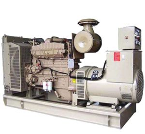 Moteur Cummins NTA855-GA 200 Kw/250 KVA Diesel Generator avec SGS de l'approbation