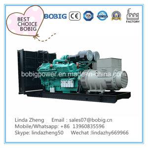 30kw a 50kw biogás generador de gas metano sin carrocería de tipo abierto