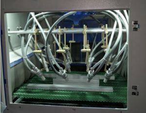 Мобильный телефон Shell / алюминиевые пластины Автоматический конвейер пескоструйной очистки машины