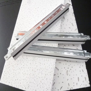De witte Blootgestelde Vlakke t-Staaf van het Plafond van de Groef (32*24*12')