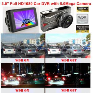 Heiße 3.0  HD Bildschirm-Zink-Legierung, die vollen Flugschreiber des Auto-1080P mit Kamera des Auto-5.0mega, Novatek Ntk96650 Chipset, Aptina Ar0330 6g Objektiv, DVR-3003 unterbringt