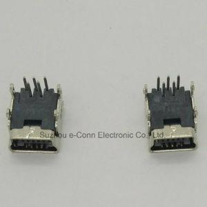 Connecteur mini USB type B de 180° DIP