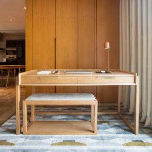 오크 호두 나무로 되는 목제 식당 의자