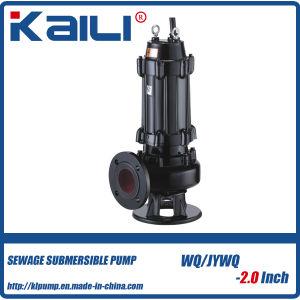 4 WQ sumergible de aguas residuales bomba de agua en el ahorro de energía
